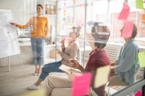 Students at seminar - Stock Photo - Images