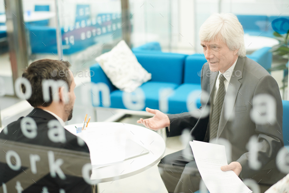 Senior Businessman at Work - Stock Photo - Images