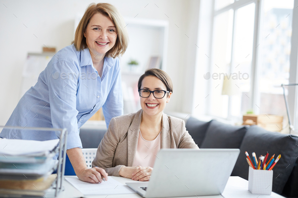 Female Team in Office - Stock Photo - Images