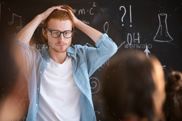 Confused guy - Stock Photo - Images