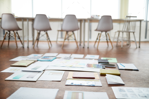 Project Plan in Empty Office - Stock Photo - Images