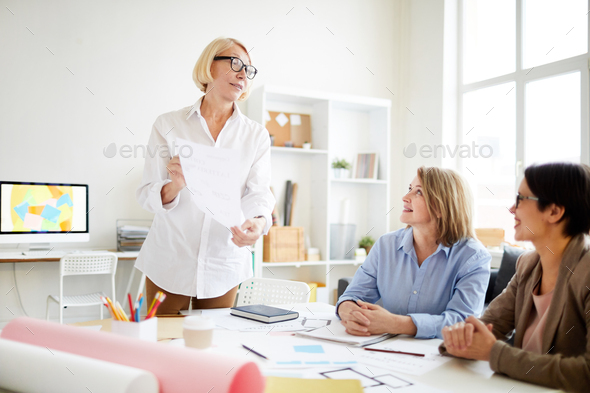 Designers Meeting in Office - Stock Photo - Images