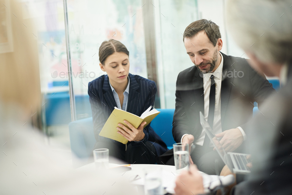 Business people in Work Meeting - Stock Photo - Images