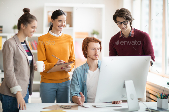 Online course of study - Stock Photo - Images