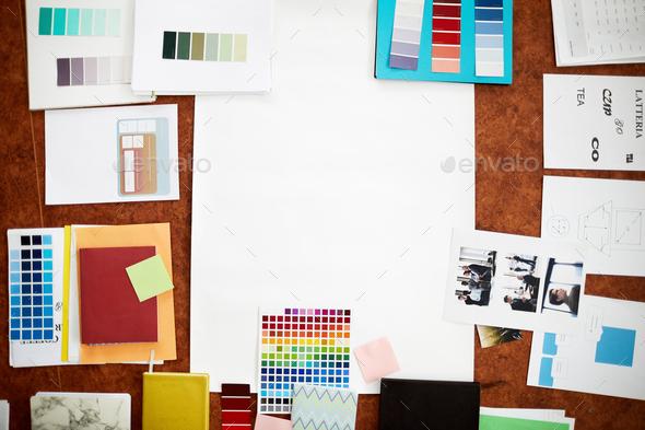 Creative Flatlay - Stock Photo - Images