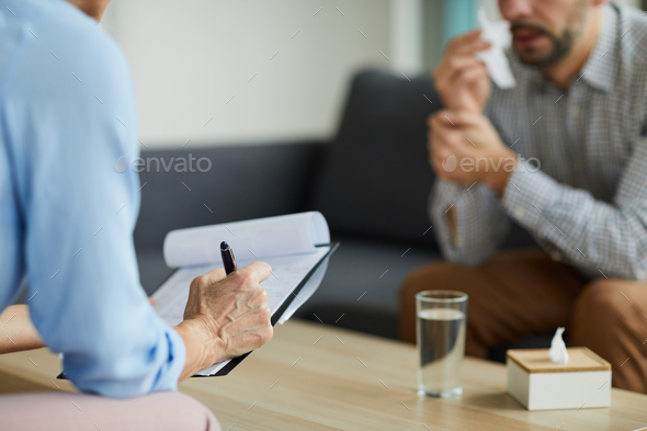 Notes about patient - Stock Photo - Images