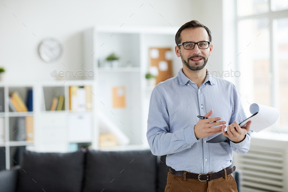 Psychologist in office - Stock Photo - Images