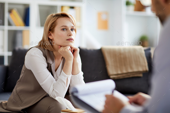 Consulting psychologist - Stock Photo - Images