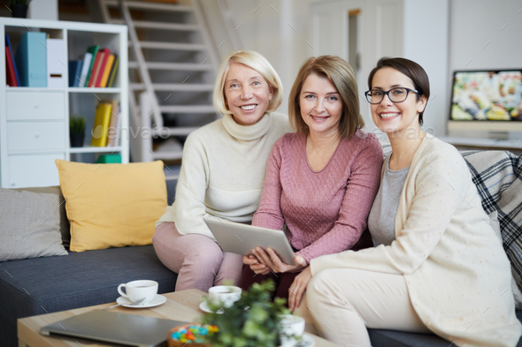 Women in Family - Stock Photo - Images