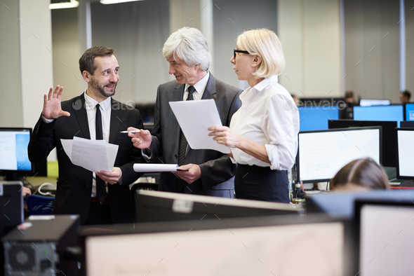 Group of Mature Executives - Stock Photo - Images