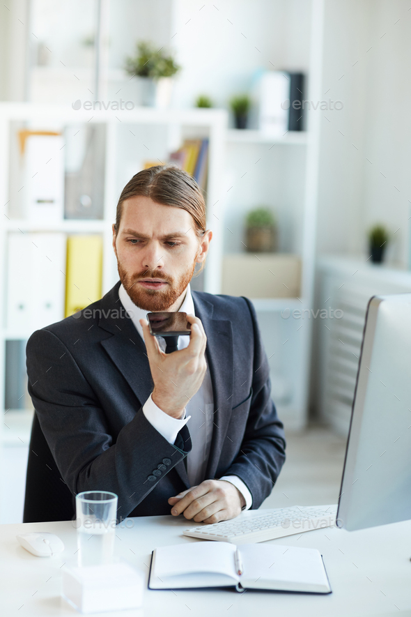 Mobile employee - Stock Photo - Images