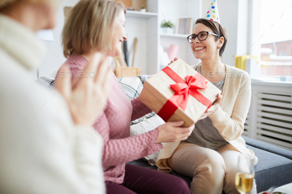 Celebrating Birthday - Stock Photo - Images