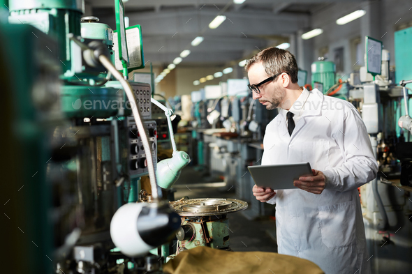 Quality Control at Factory - Stock Photo - Images