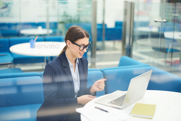 Young Businesswoman in Internship - Stock Photo - Images