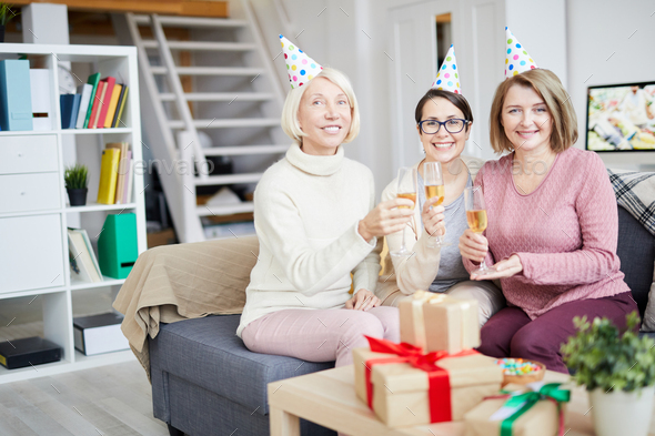 All Girls Party - Stock Photo - Images