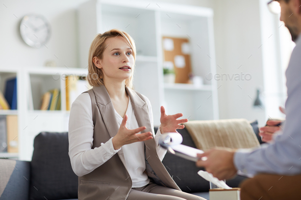Visiting counselor - Stock Photo - Images