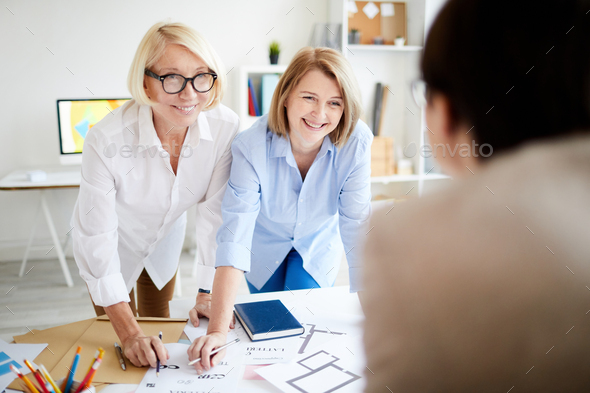Designers Collaborating - Stock Photo - Images