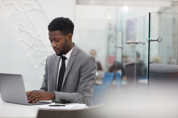 African Office Worker - Stock Photo - Images
