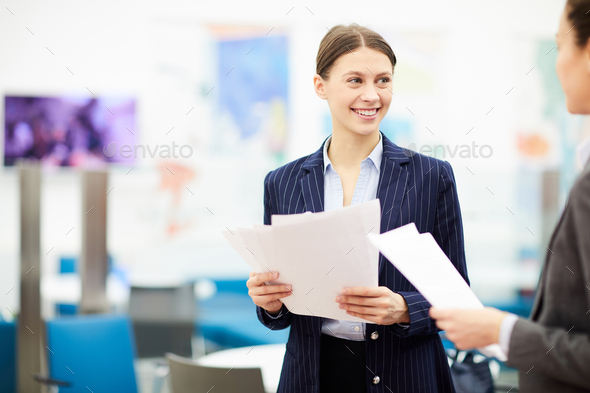 Female Office Worker - Stock Photo - Images