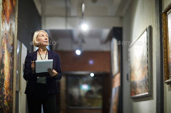 Museum Curator - Stock Photo - Images