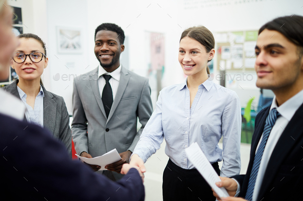 Business partners Shaking Hands - Stock Photo - Images