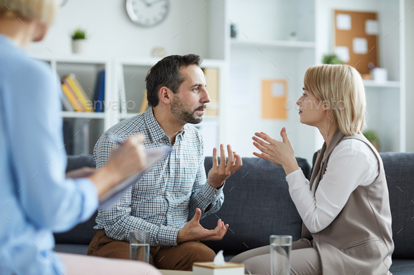 Arguing - Stock Photo - Images