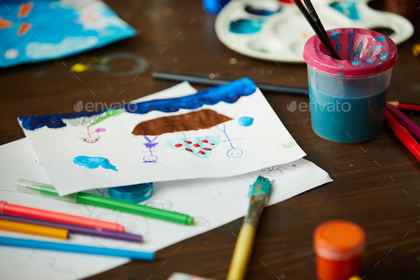 Kids Picture - Stock Photo - Images