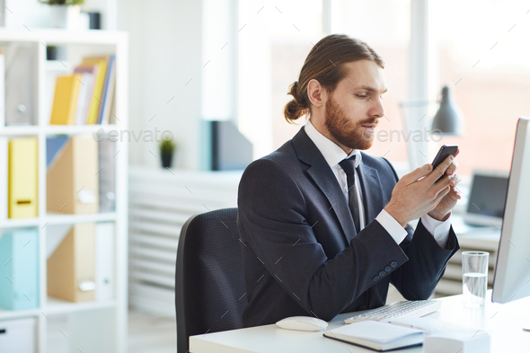Talking through video chat - Stock Photo - Images
