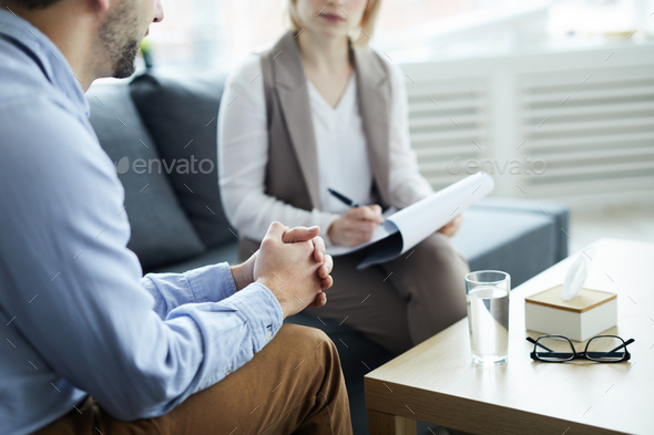 Patient in trouble - Stock Photo - Images