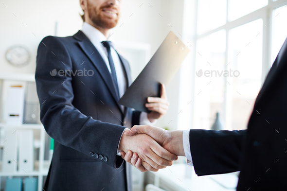 Gesture of partnership - Stock Photo - Images