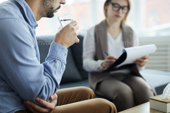 Having water - Stock Photo - Images