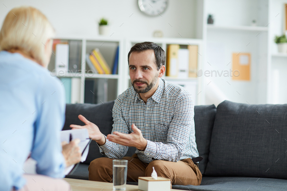 Sharing troubles - Stock Photo - Images