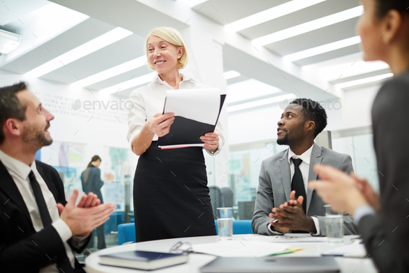 Business Briefing - Stock Photo - Images