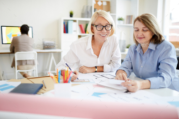 Two Modern Businesswomen - Stock Photo - Images
