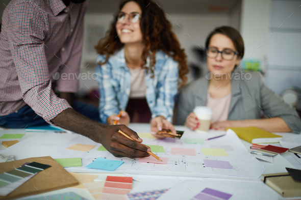 Contemporary Business Team Planning Project - Stock Photo - Images