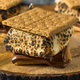 Homemade Gooey Smores Sandwiches - PhotoDune Item for Sale