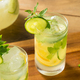 Homemade Cucumber Mint Lemonade - PhotoDune Item for Sale