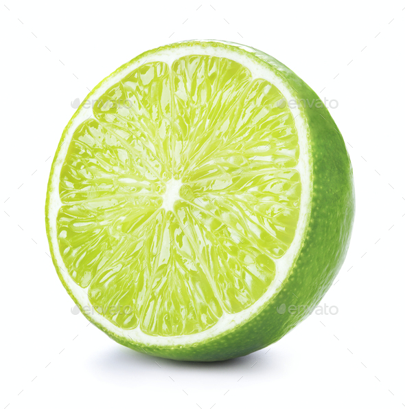 Half of limes - Stock Photo - Images