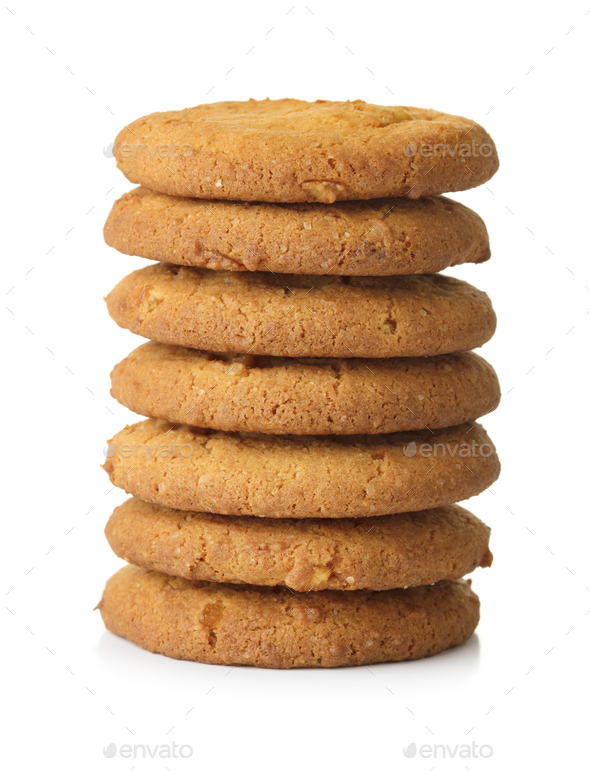 Oat cookies - Stock Photo - Images