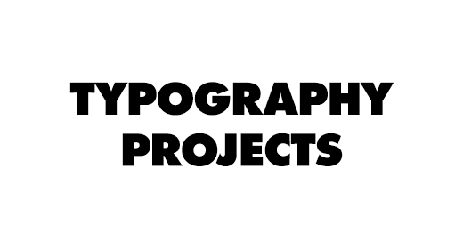Typography Projects 2020