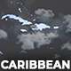 Map of Caribbean Islands with Countries - Caribbean Islands Map Kit - VideoHive Item for Sale