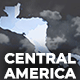 Map of Central America with Countries - Central America Islands Map Kit - VideoHive Item for Sale