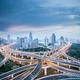 city interchange in shanghai - PhotoDune Item for Sale