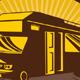 Travelling Camper Van - GraphicRiver Item for Sale