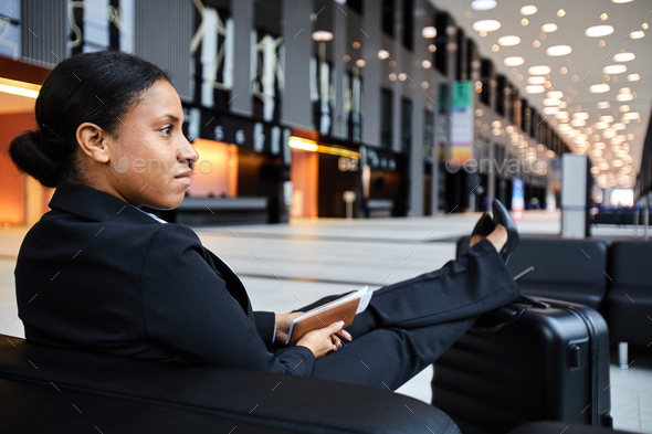 Rest before flight - Stock Photo - Images