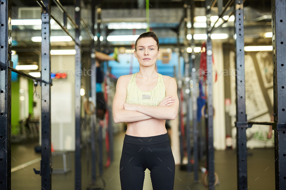 Girl in activewear - Stock Photo - Images