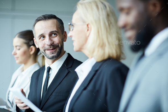 Discussing details - Stock Photo - Images
