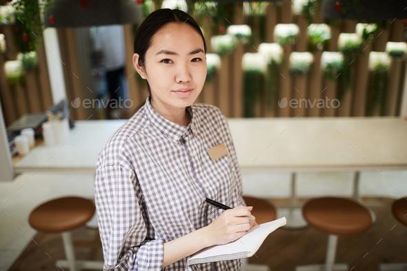 Waitress at work - Stock Photo - Images
