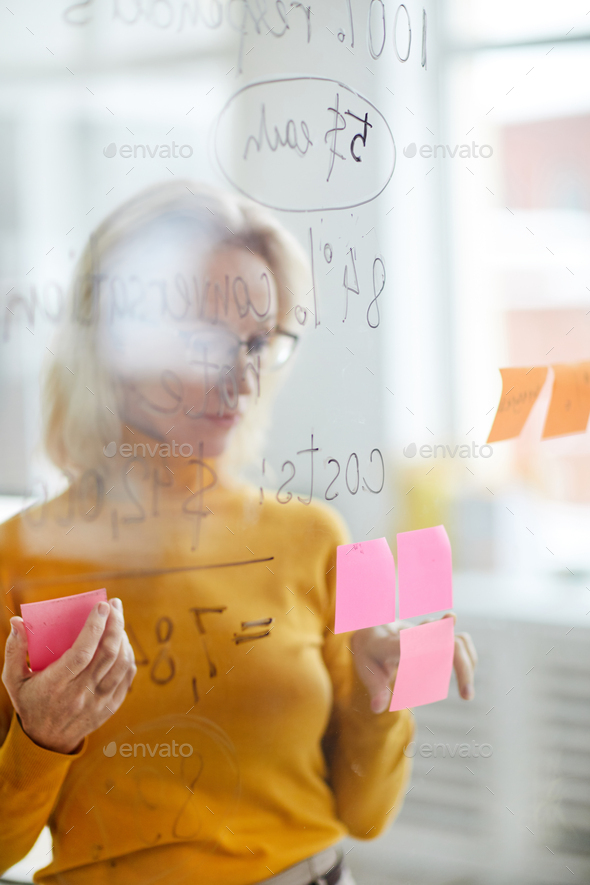 Busineswswoman Planning Project - Stock Photo - Images