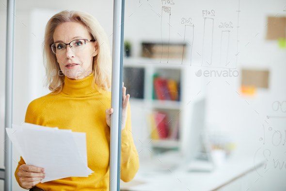 Mature Business Manager - Stock Photo - Images